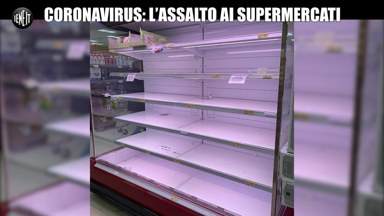 Coronavirus in Lombardia: assalto ai supermercati aperti | VIDEO