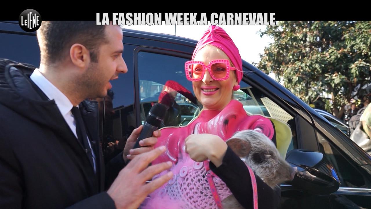 CORDARO: Fashion week a Milano: a Carnevale ogni vestito vale
