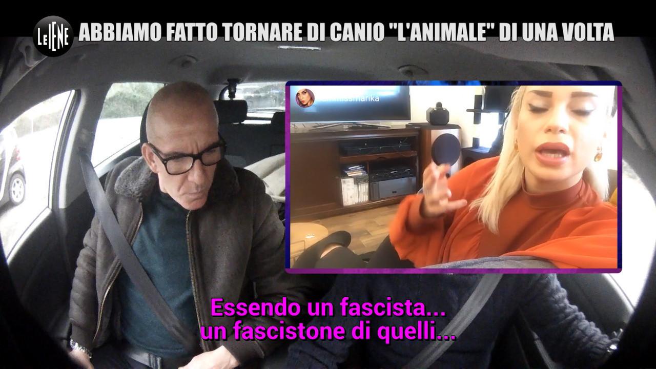 Mitch scherzo Di Canio insulti fascisti influencer