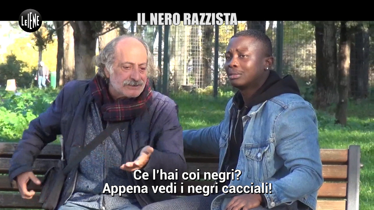 nero razzista italiani nero