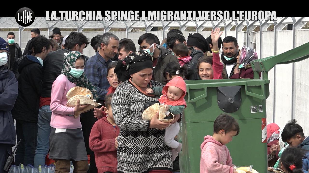 migranti turchia grecia isola lesbo