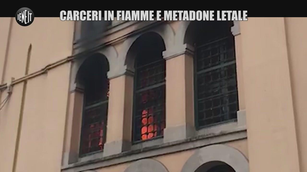 carceri fiamme metadone letale