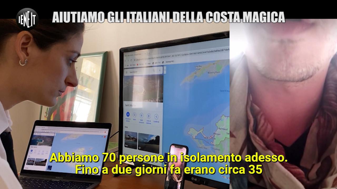 coronavirus italiani costa magica malati