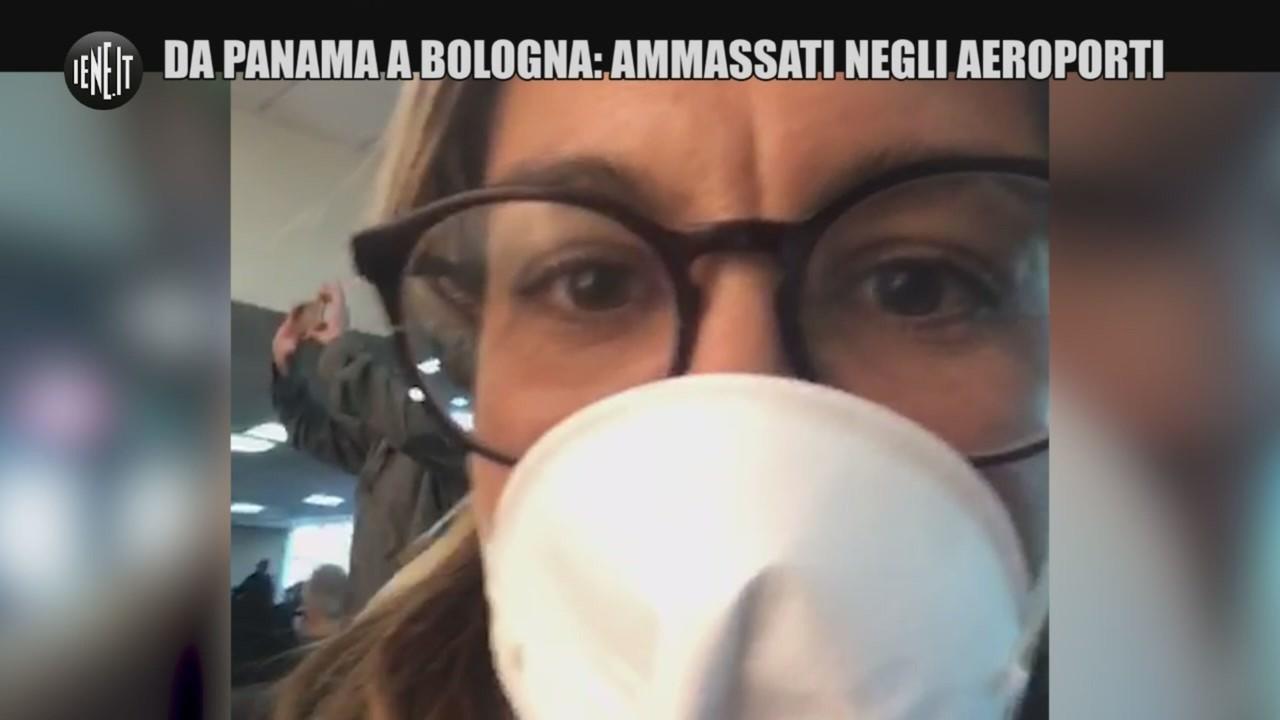 coronavirus panama bologna aeroporti