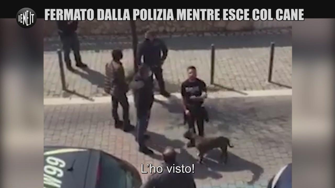 coronavirus ladispoli cane poliziotti