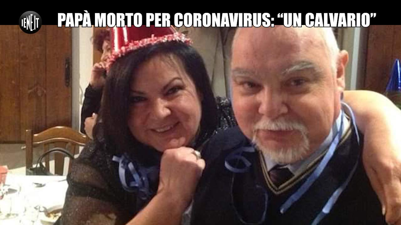 Coronavirus, Silvia perde il papà