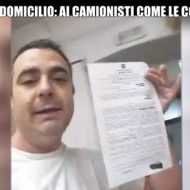 coronavirus pizze domicilio multato