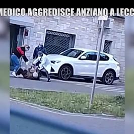 Arrestato medico picchiato anziano