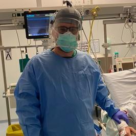 coronavirus medico ammalato guarito