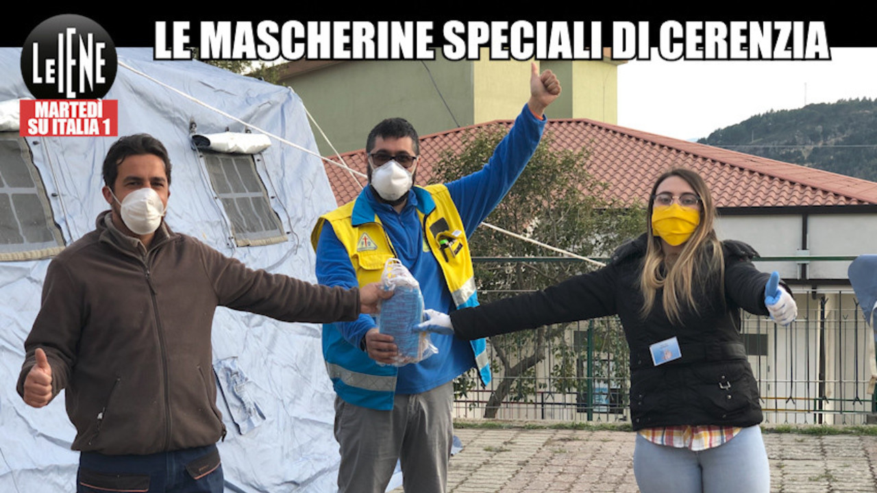 Mascherine gratis: la missione dei volontari di Cerenzia