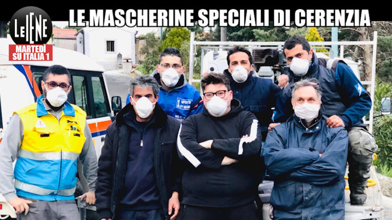 mascherine gratis volontari