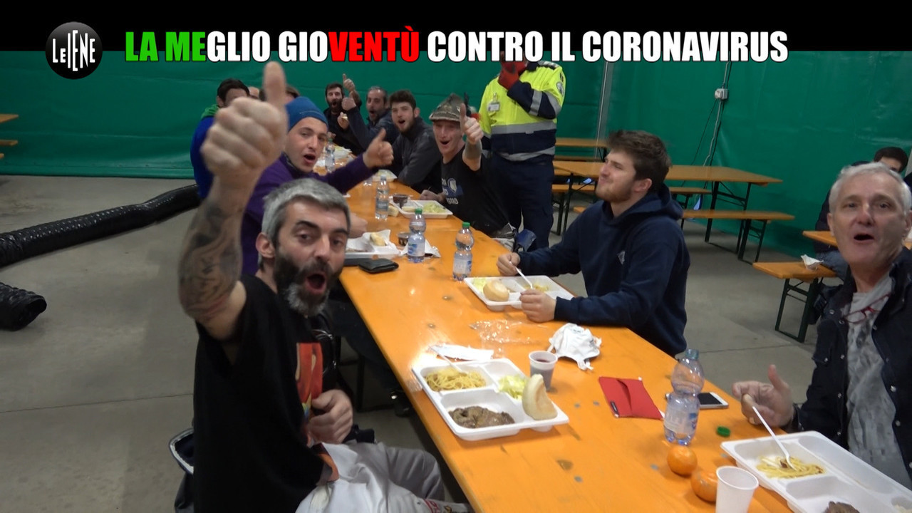Coronavirus ospedale Bergamo alpini