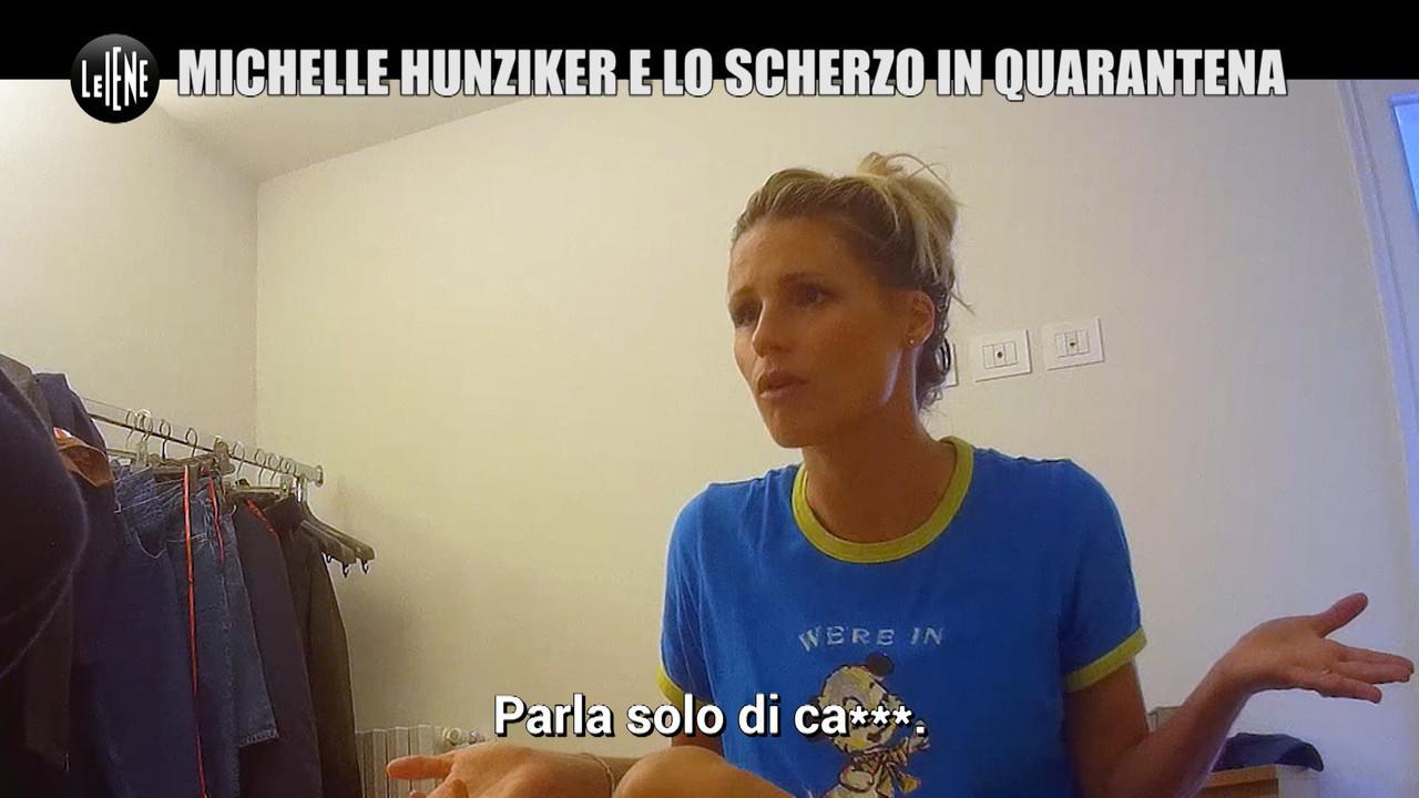 scherzo quarantena Aurora Michelle Hunziker