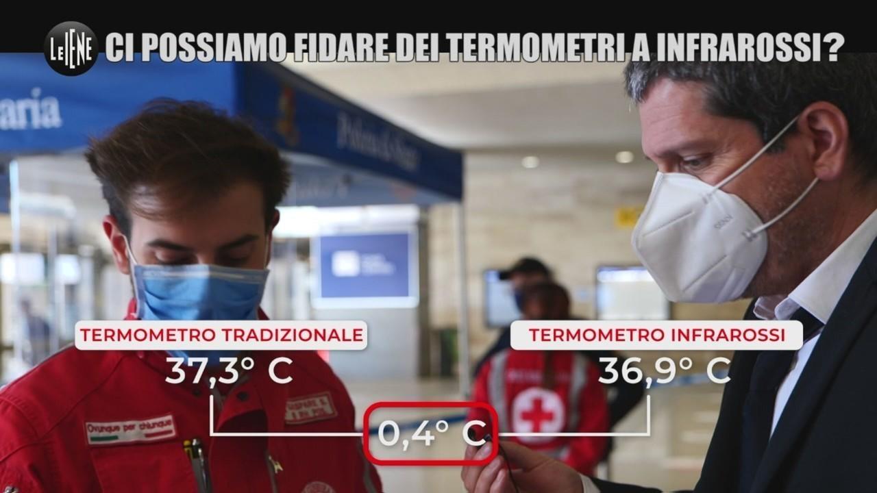 termometri infrarossi febbre