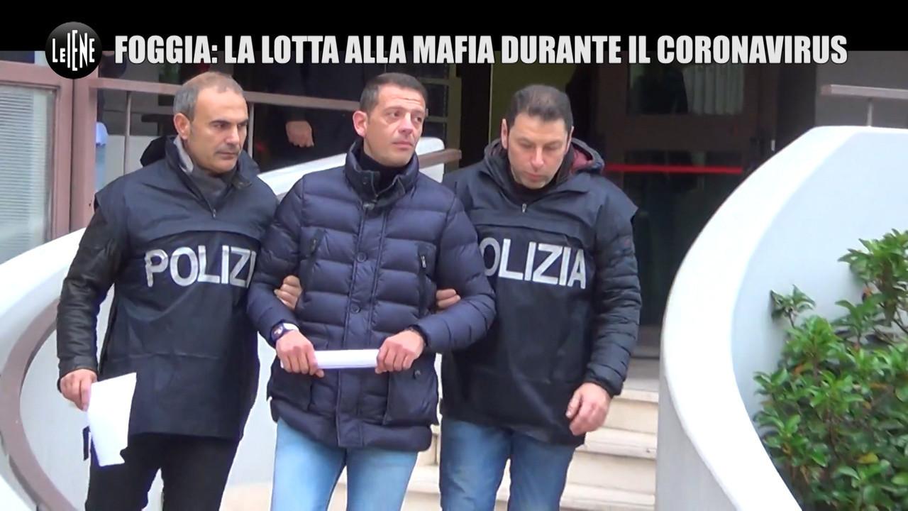 società foggiana lockdown mafia
