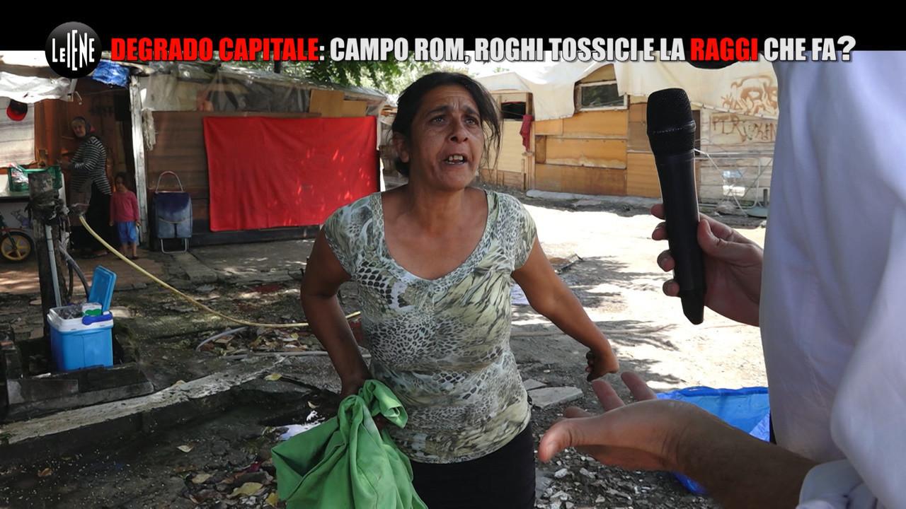 degrado capitale campo rom rifiuti tossici usura