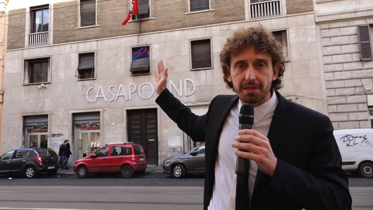 CasaPound sede Roma palazzo Stato occupato abusivamente Salvini