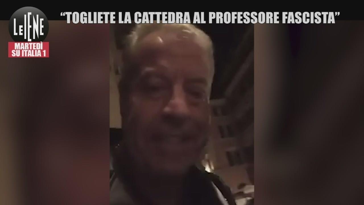 Nicola Franzoni professore fascista
