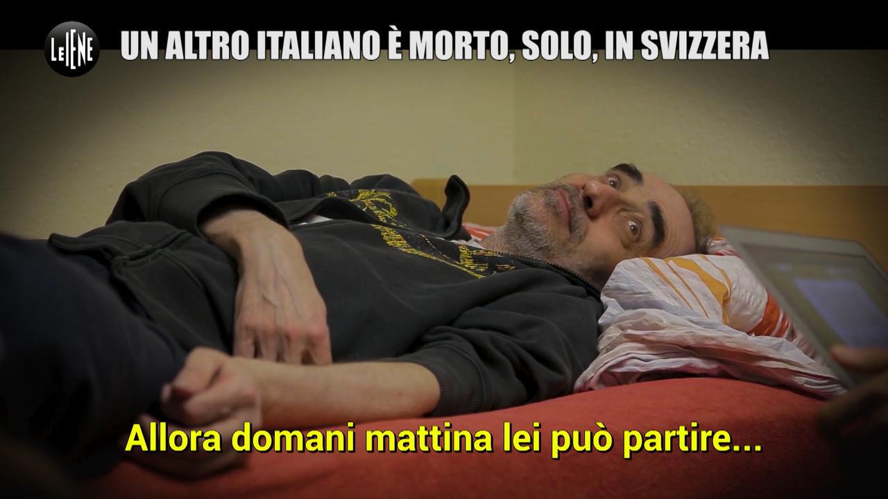 eutanasia fine vita davide trentini morte svizzera