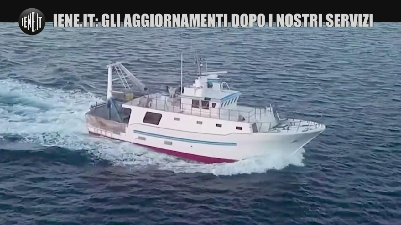aggiornamenti ritrovato peschereccio naufragato