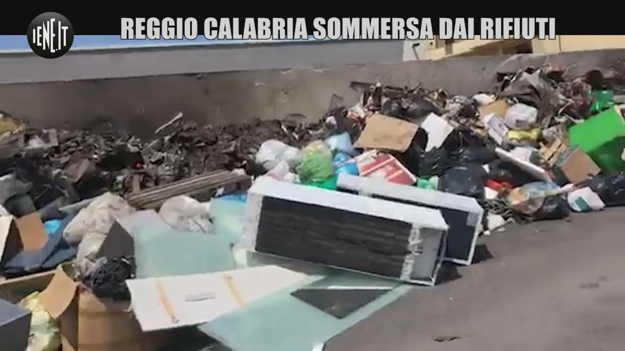 emergenza rifiuti reggio calabria