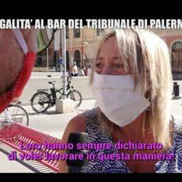 Bar Tribunale Palermo cessa attivita
