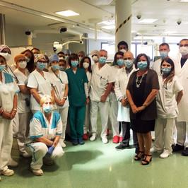 terapia intensiva ospedale Bergamo Covid free