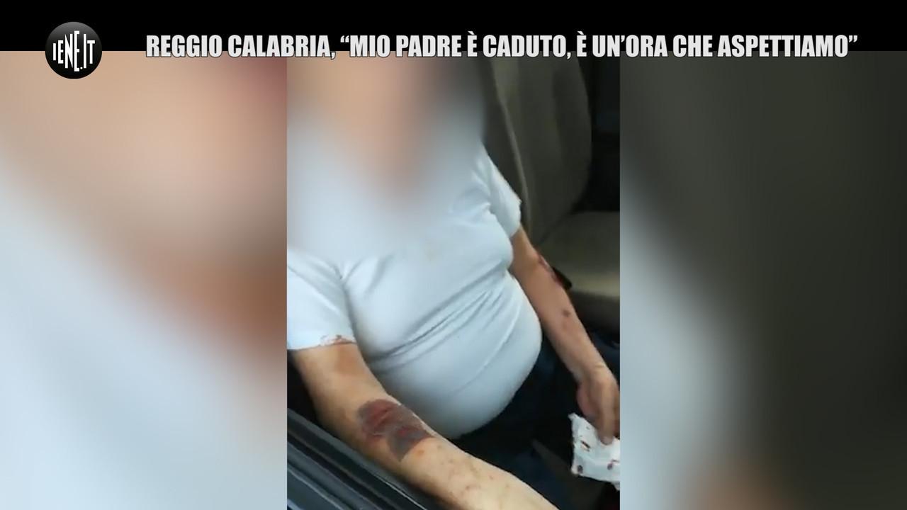 Reggio Calabria padre ambulanza sfogo virale