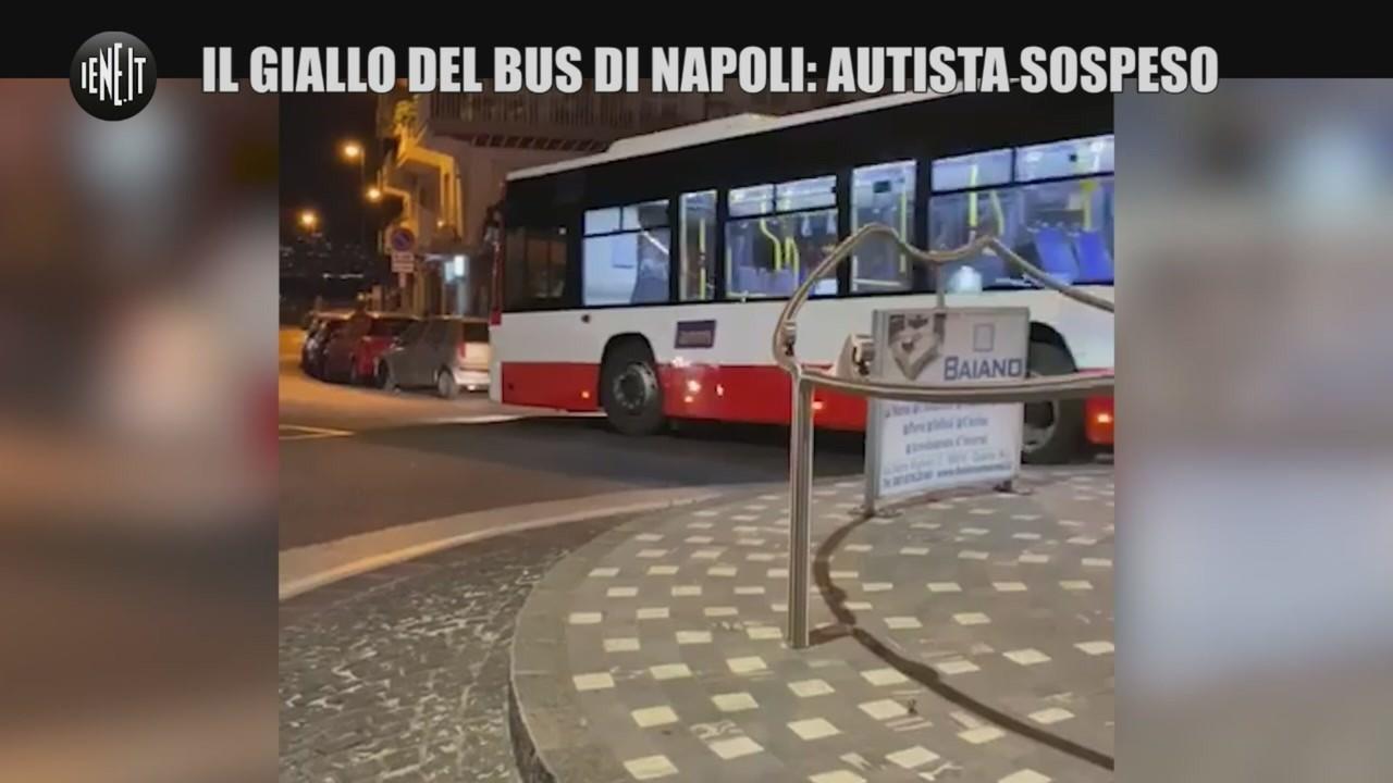 bus Napoli autista sospeso