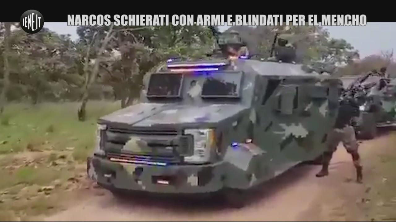 Narcos schierati armi El Mencho