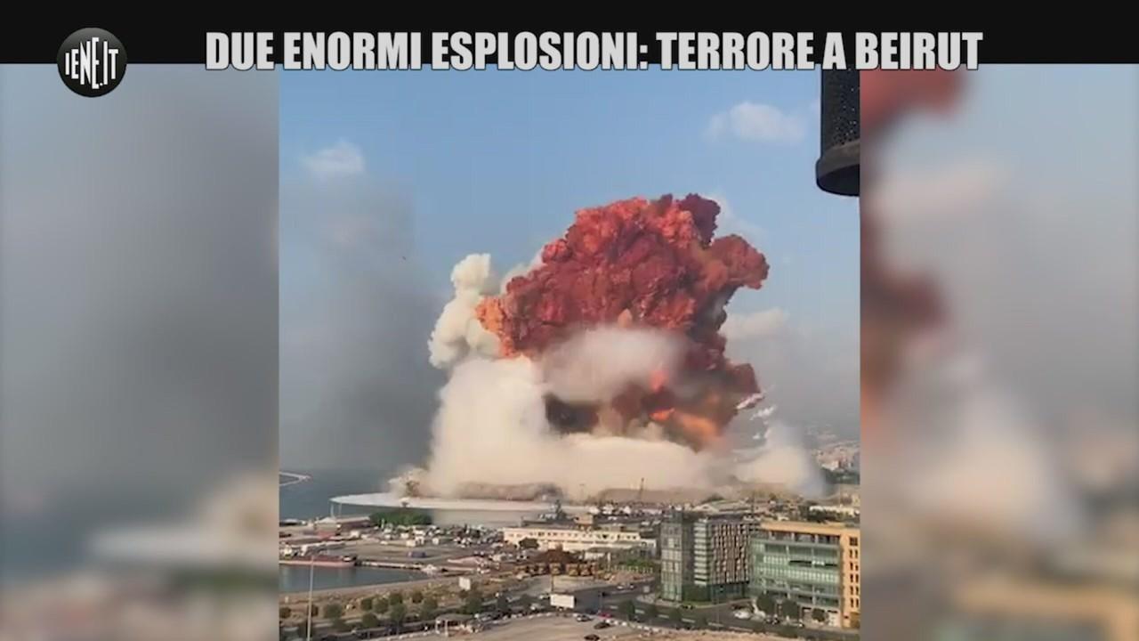 Esplosioni Beirut