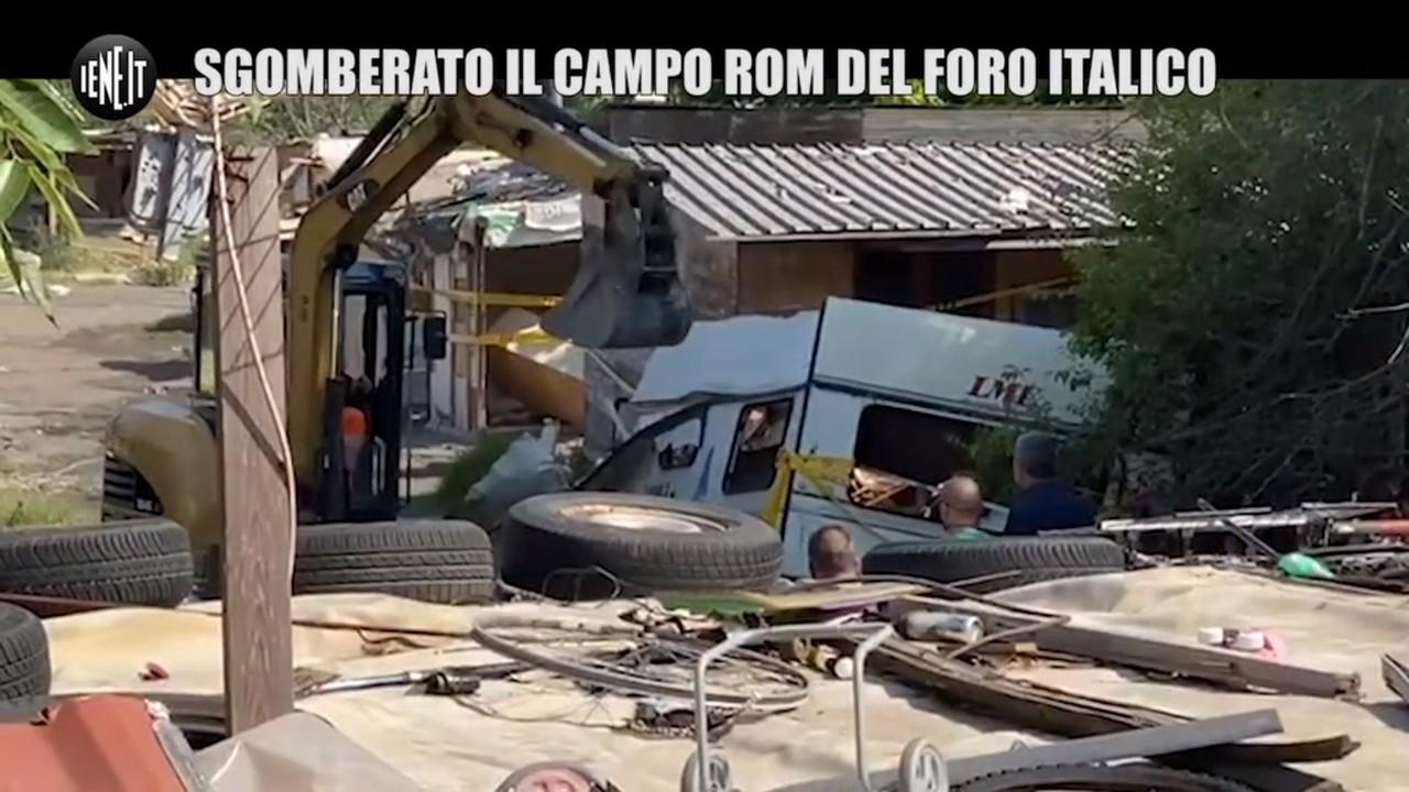 Sgombero al campo rom dopo la nostra denuncia | VIDEO E FOTO
