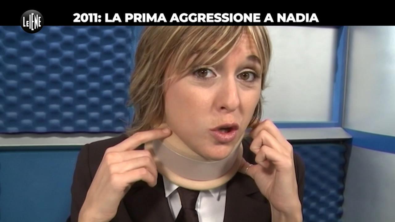 nadia toffa aggressione interviste