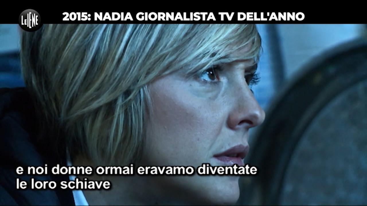 Le Iene per Nadia/6. Giornalista tv del 2015: le sue battaglie per gli altri