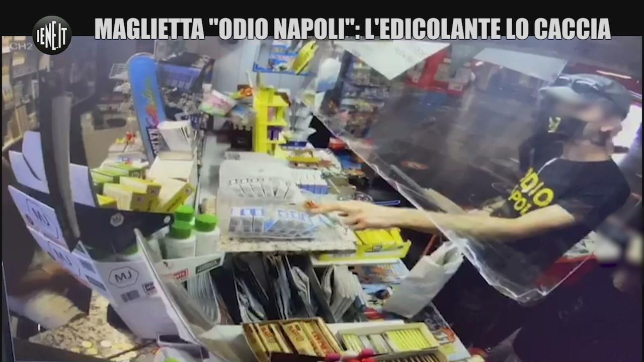 Maglietta Odio Napoli video