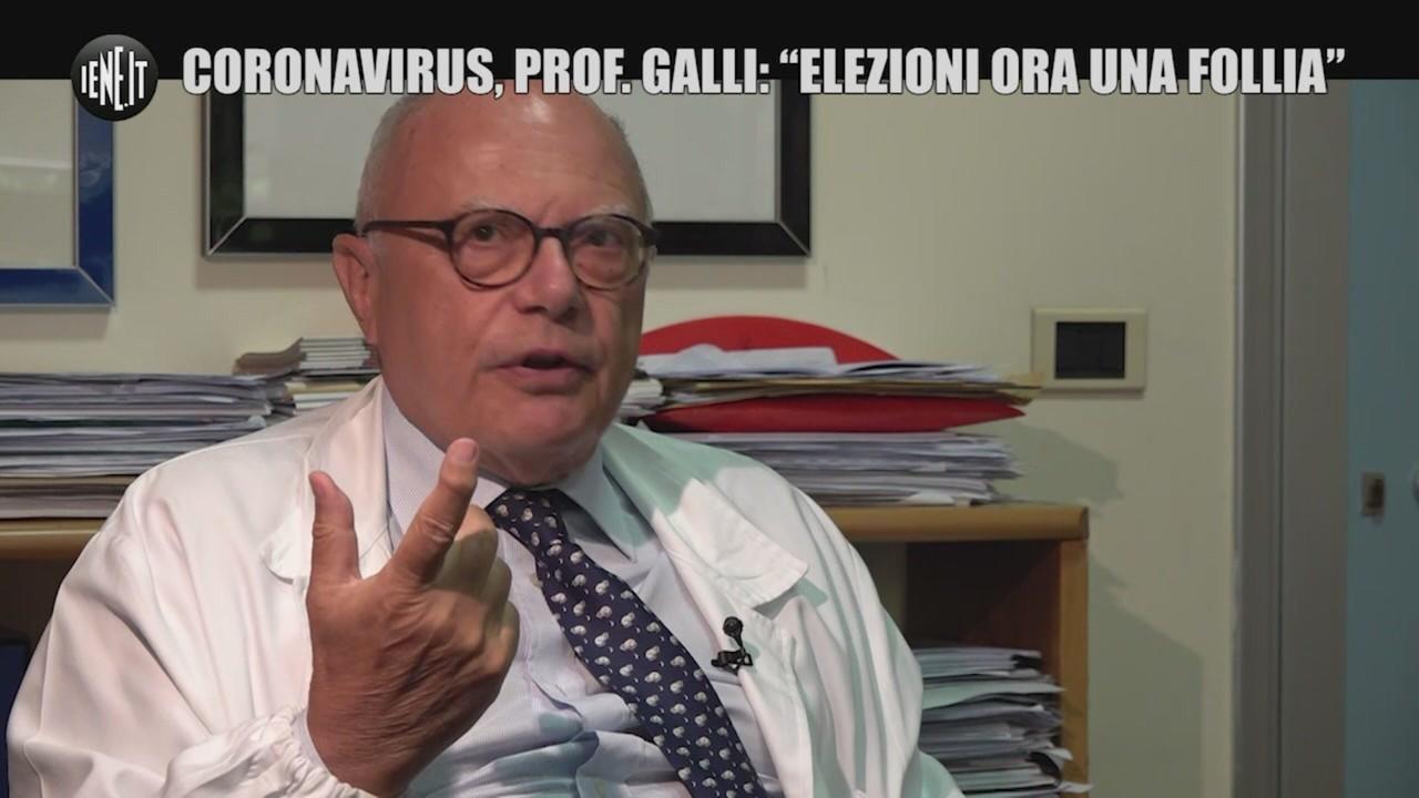 coronavirus professor galli elezioni follia
