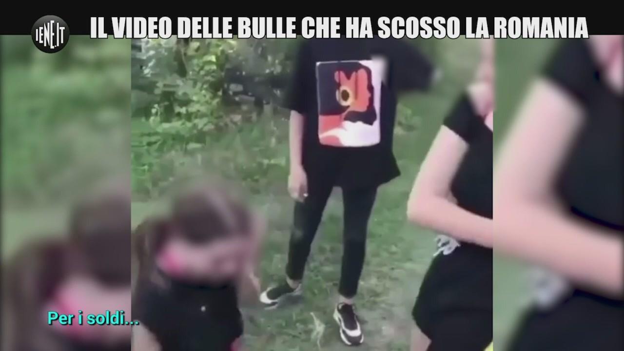 bullismo ragazzina picchiata romania