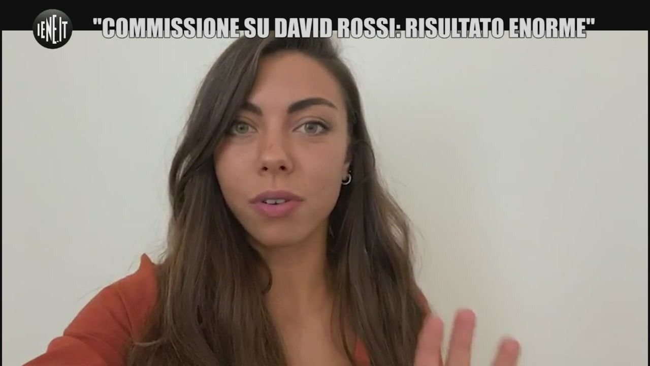David Rossi Carolina commissione inchiesta