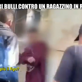 bullismo picchiato romania baby gang