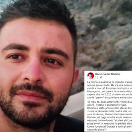 sfogo social Donato morto Willy giustizia