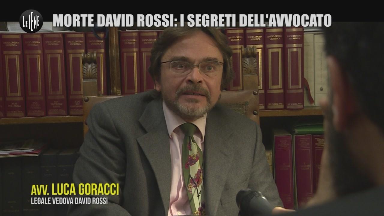 MONTELEONE: Morte David Rossi, il mistero della valigetta