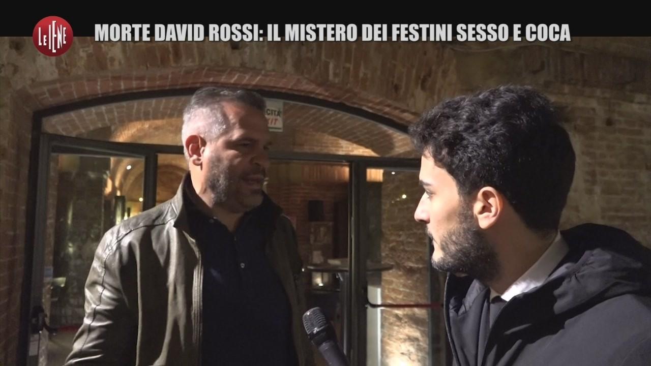MONTELEONE: Morte David Rossi: Il mistero dei festini sesso e droga