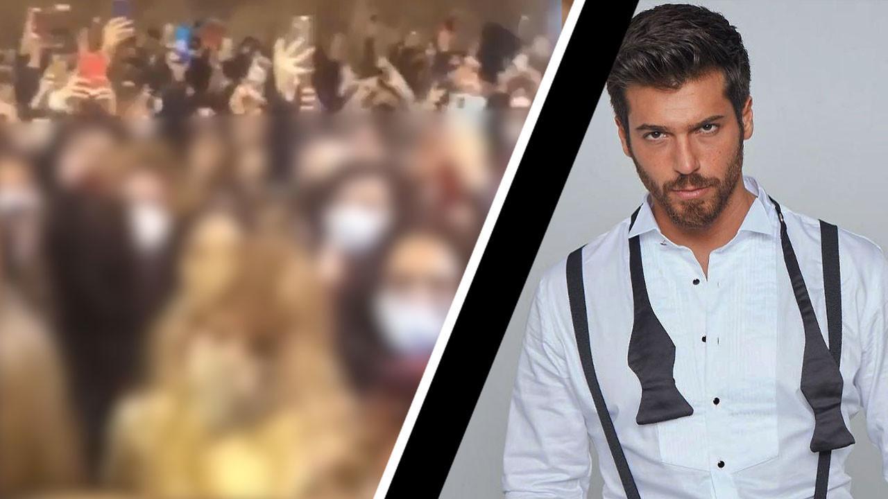 attore turco Can Yaman Italia assembramento fan