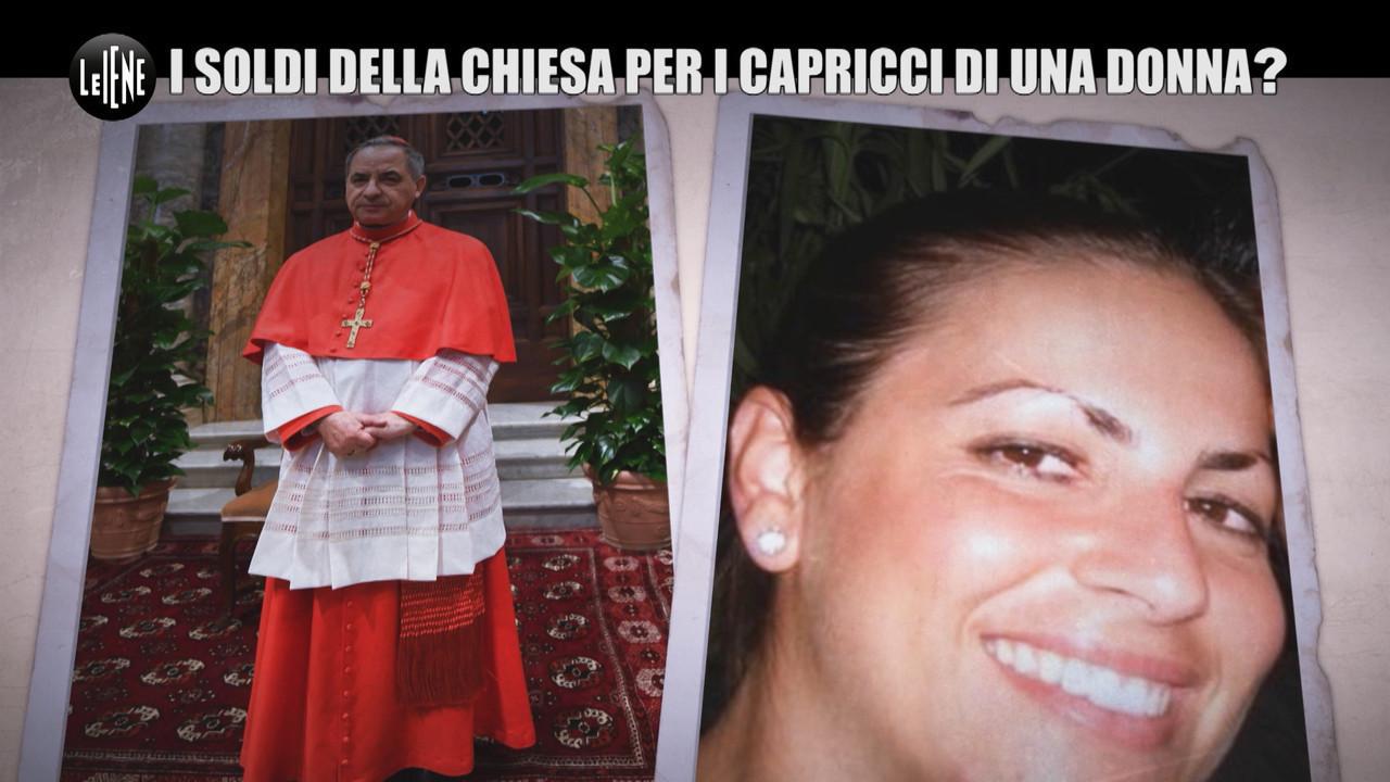 Caso becciu soldi chiesa donna