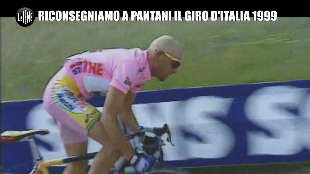 Giro d'Italia, scriviamo il nome di Pantani sul trofeo per il 1999