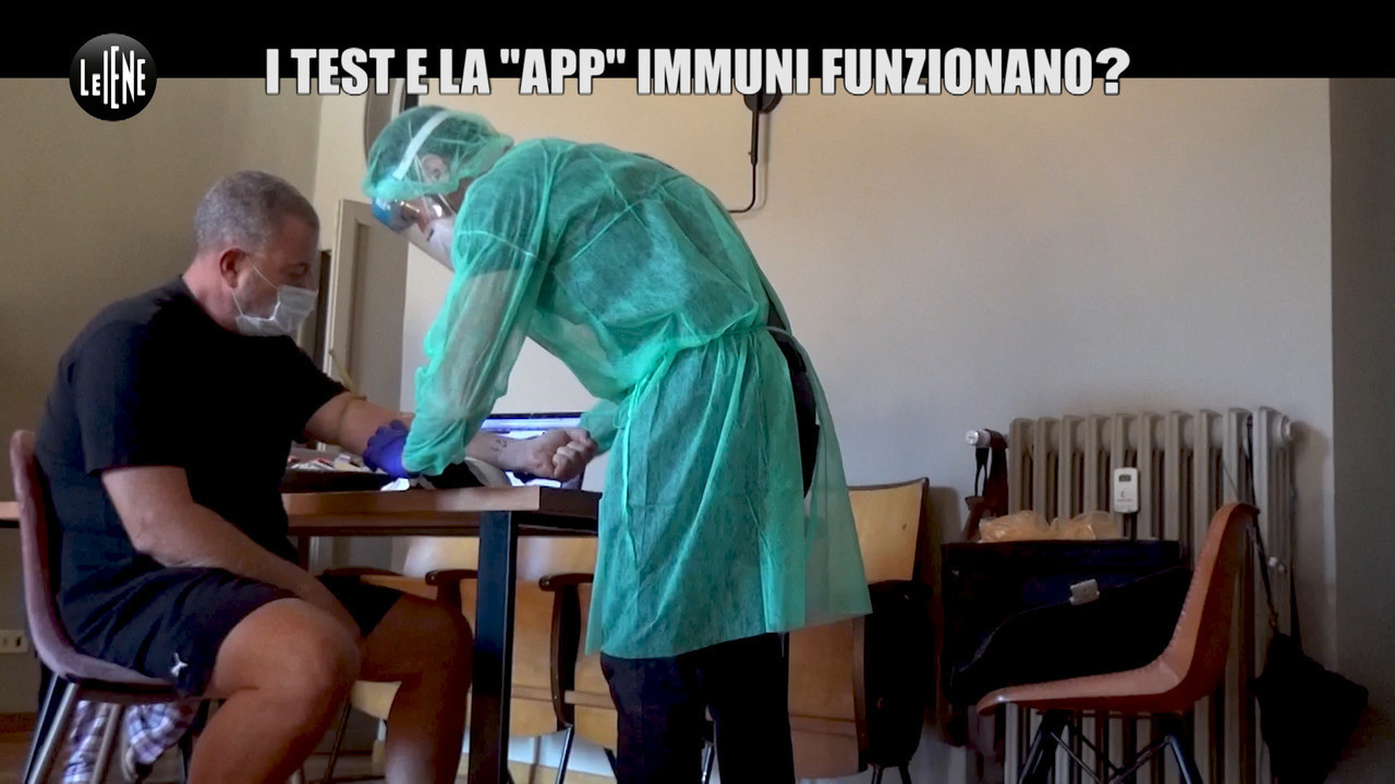 Covid, test pungidito e app Immuni: li sperimenta Giulio Golia