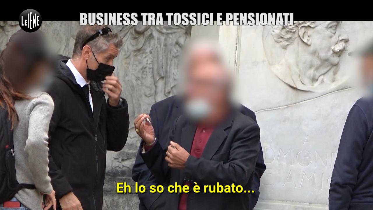 Lo strano business che unisce anziani e tossici a Torino