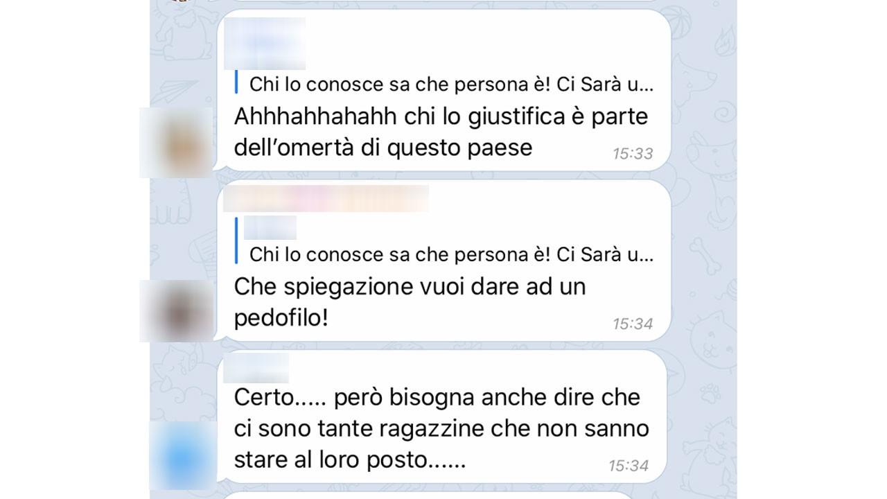 Carabiniere adescatore di 13enne: ecco come avrebbe commentato la sua compagna 1