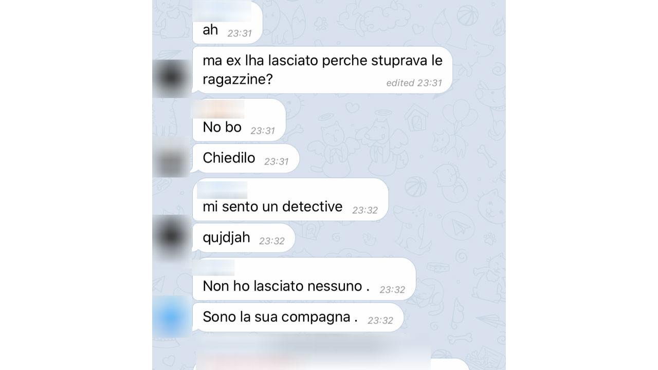 Carabiniere adescatore di 13enne: ecco come avrebbe commentato la sua compagna 2