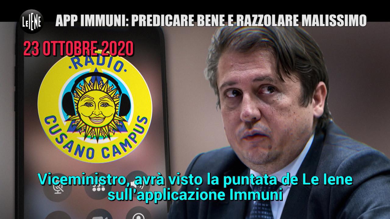 app immuni viceministro sileri